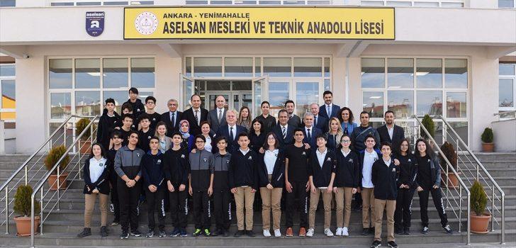 Milli Eğitim Bakan Yardımcısı Özer: ASELSAN lisesi rol model olacak