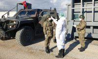 MSB'de koronavirüse karşı harekat bölgesindeki birliklerde ilave tedbirler alındı