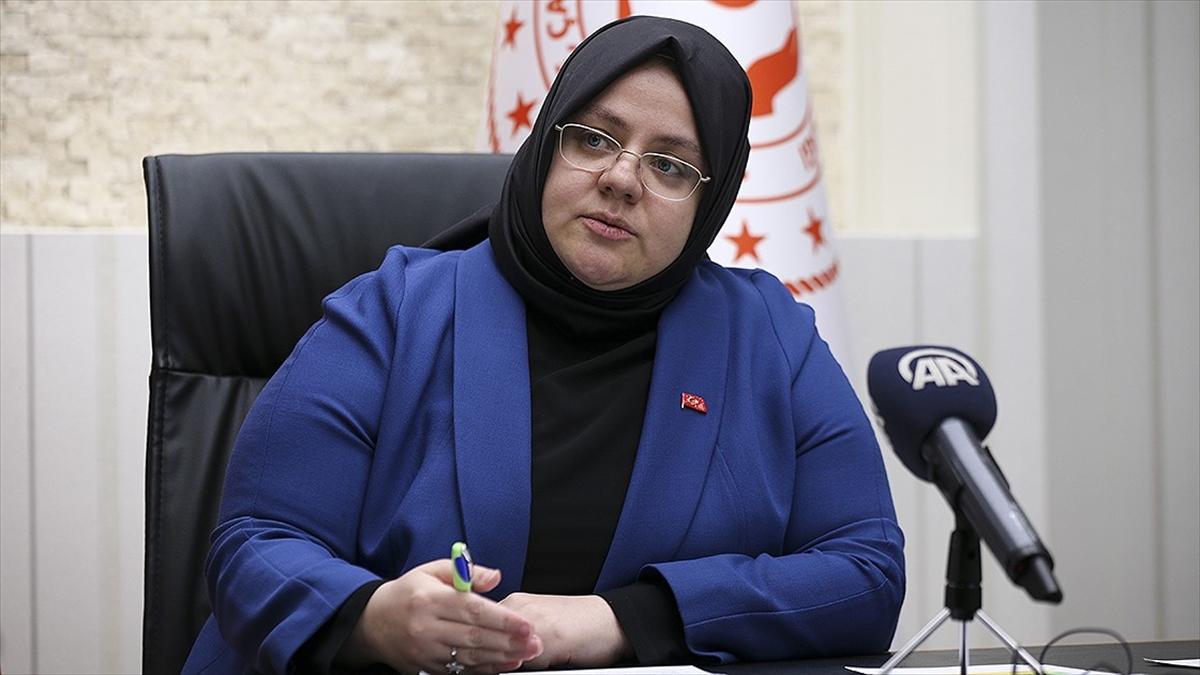 Bakan Zehra Zümrüt Selçuk: 1000'er lira nakdi destek ödemesi bugün başladı