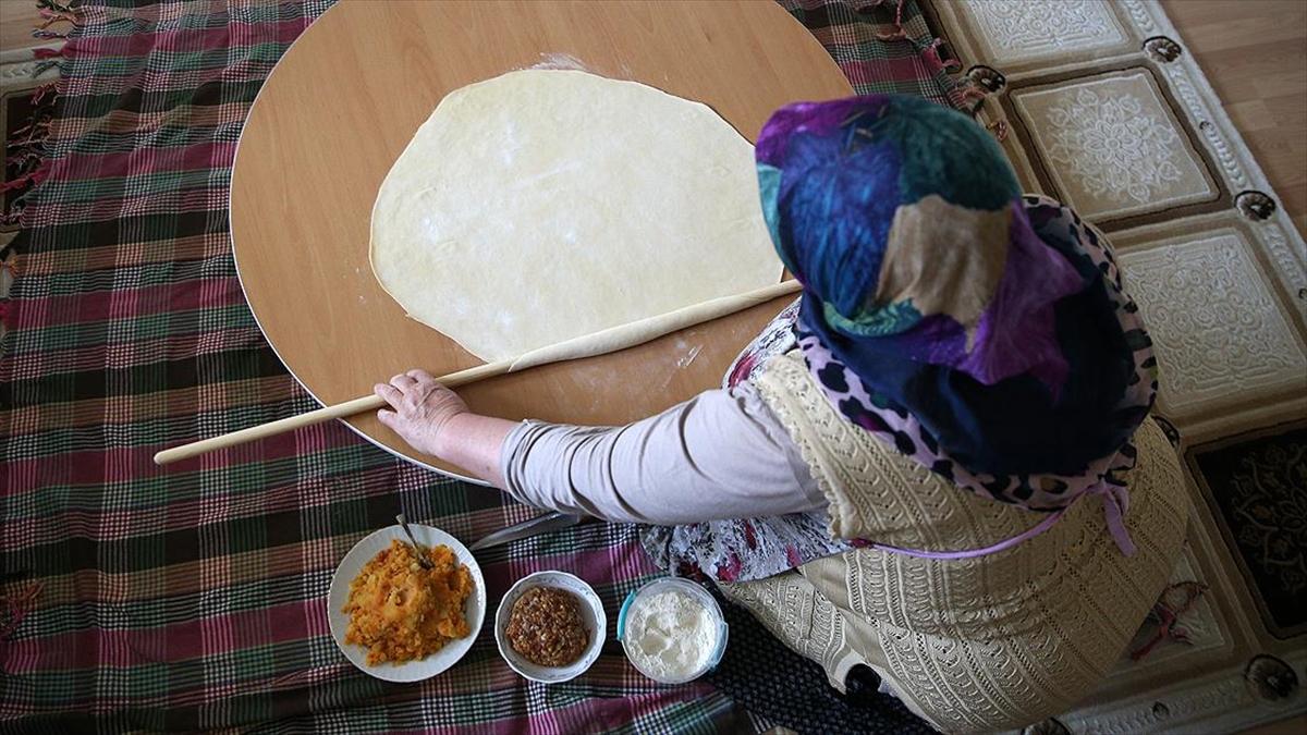 Kayseri mantısı iftar sofralarını süslüyor