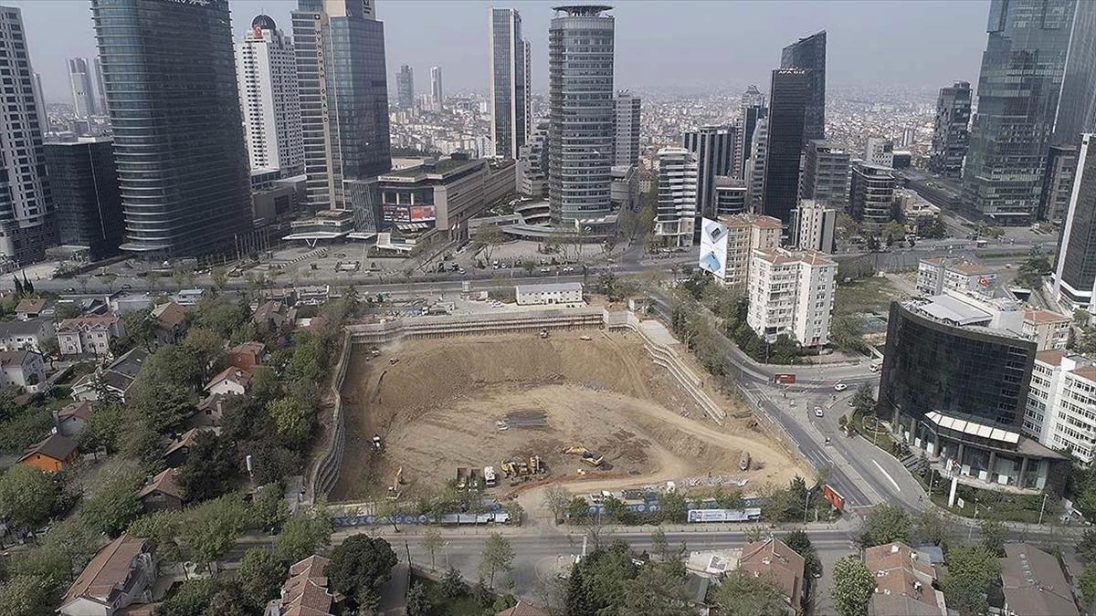 Levent Camisi'nin temelinin atılmasına sayılı günler kaldı