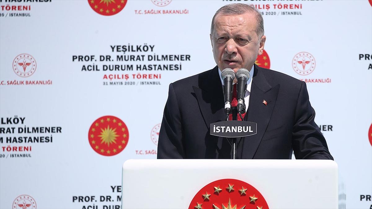 Cumhurbaşkanı Erdoğan: Acil durum hastaneleri ülkemizin yüz akı olacaklardır