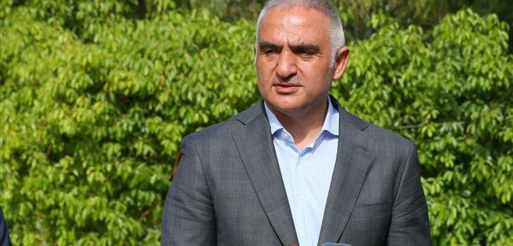 Kültür ve Turizm Bakanı Ersoy: Bir terslik olmazsa 28 Mayıs gibi iç turizm hareketiyle inşallah turizm başlar