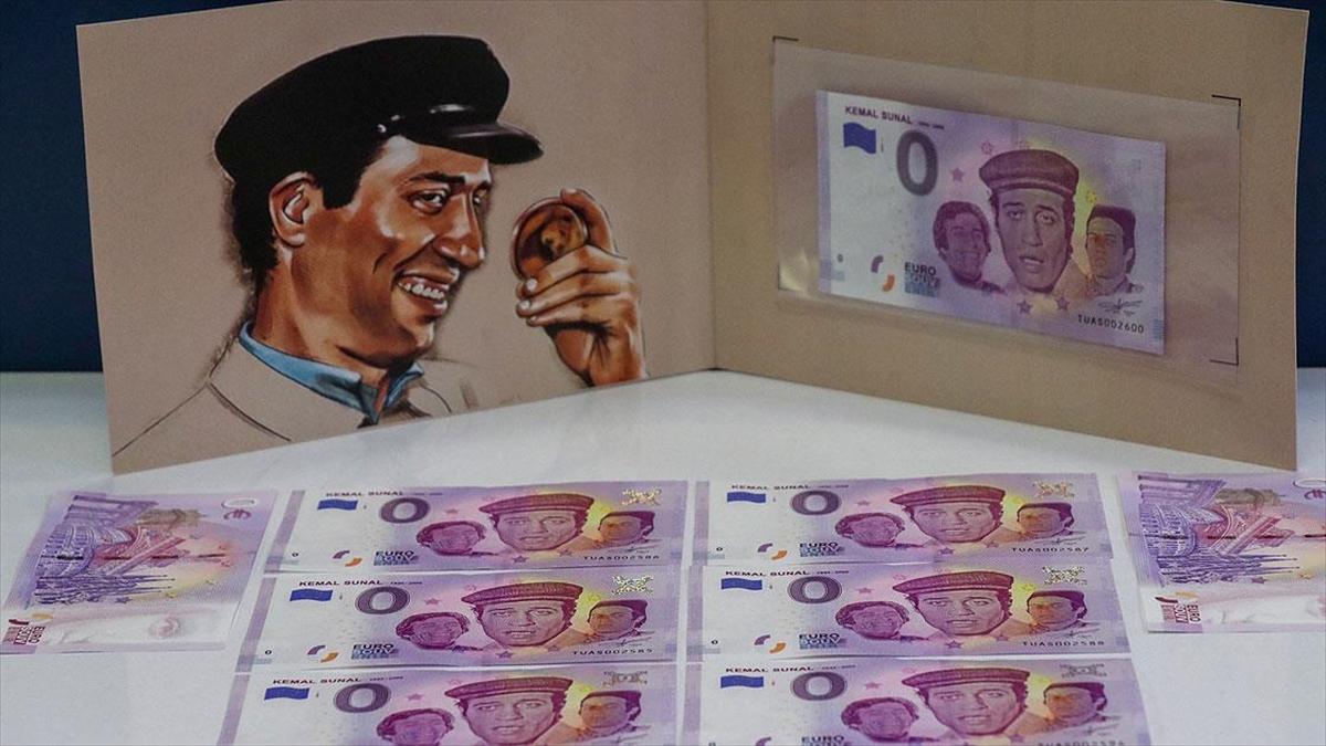 Kemal Sunal'ın ölümünün 20. yılı anısına hatıra para basıldı