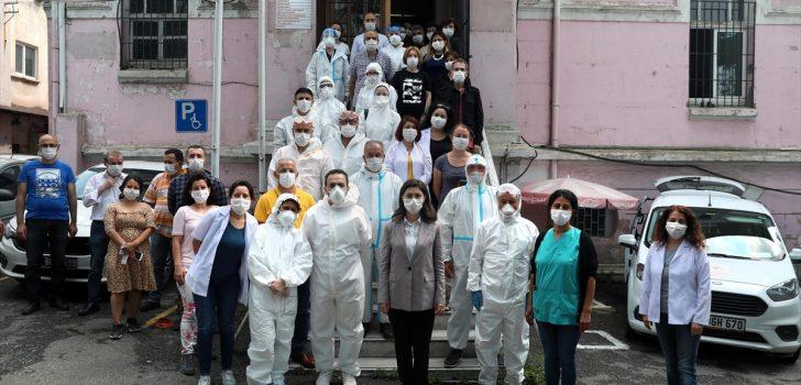 Salgınla mücadelede antikor testi uygulaması sürüyor
