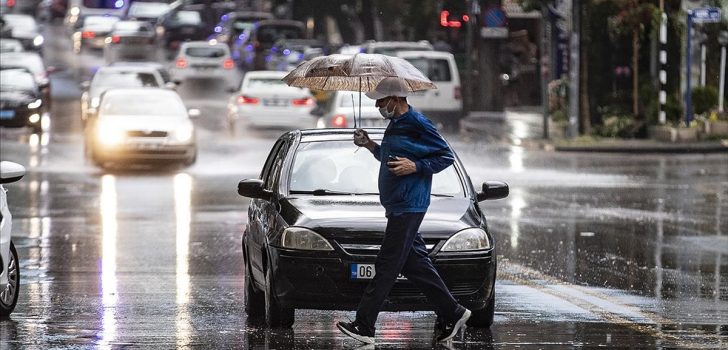 Ülkenin büyük bölümünde şiddetli yağış bekleniyor