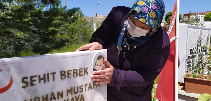 Bedirhan bebeği şehit eden teröristin etkisiz hale getirilmesi anneannesinin yüreğine su serpti