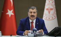 Sağlık Bakanı Koca: Vaka sayılarımızda azalma sürüyor