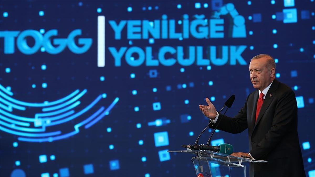 Cumhurbaşkanı Erdoğan'dan 'Türkiye'nin Otomobili' paylaşımı