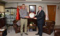 TÜMFED'den İl Sağlık Müdürü Kemal Memişoğlu'na teşekkür ziyareti