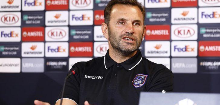 Medipol Başakşehir Teknik Direktörü Okan Buruk: İlk maçtan kazandığımız bir avantaj var