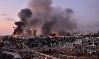 Lübnan Kızılhaçı: Beyrut'ta meydana gelen patlamada ölenlerin sayısı 100'e, yaralananların sayısı 4 bine yükseldi