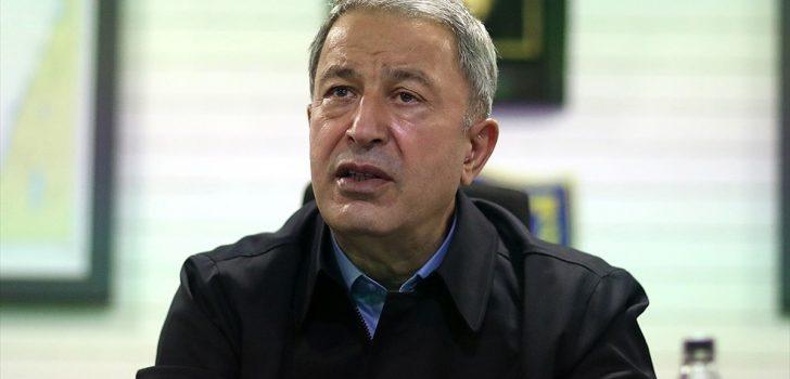 Milli Savunma Bakanı Akar: Gemilerimize yapılacak herhangi bir müdahale karşılıksız kalmadı, kalmayacak