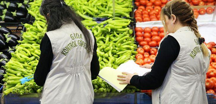 Tarım ve Orman Bakanlığı gıdada kurallara uymayanlara göz açtırmadı