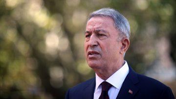 Akar: Türkiye ve Yunanistan askeri heyetleri ilk toplantısını NATO Karargahı'nda gerçekleştirdi