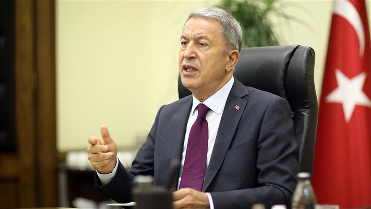 Bakanı Akar: Ermenistan'ın ne uluslararası hukuka ne insani değerlere saygısı var