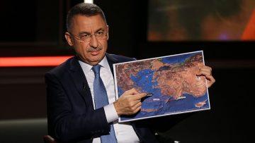 Cumhurbaşkanı Yardımcısı Oktay: Türkiye ne bir karış toprağını ne de denizindeki bir damla suyunu hiç kimseye vermez