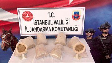 İstanbul'da 26 kilogram eroin ele geçirildi