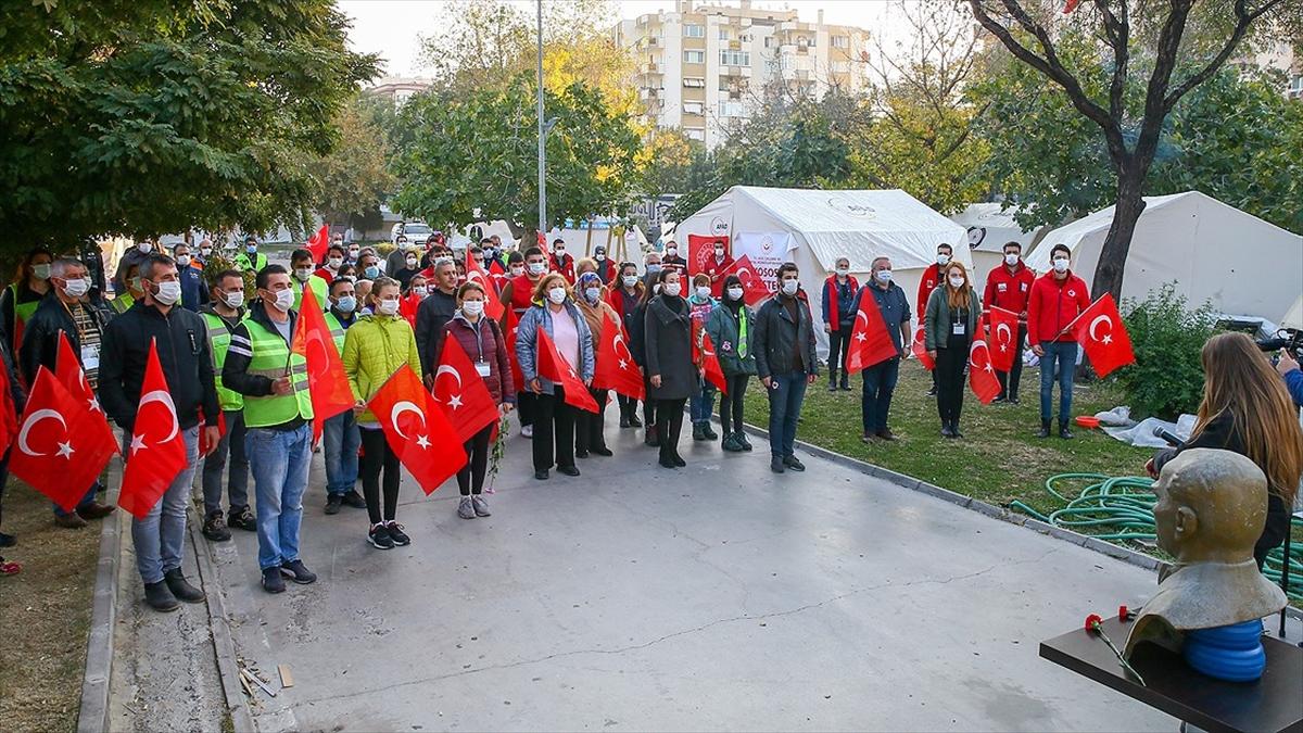 Büyük Önder Atatürk yurdun dört bir yanında anıldı