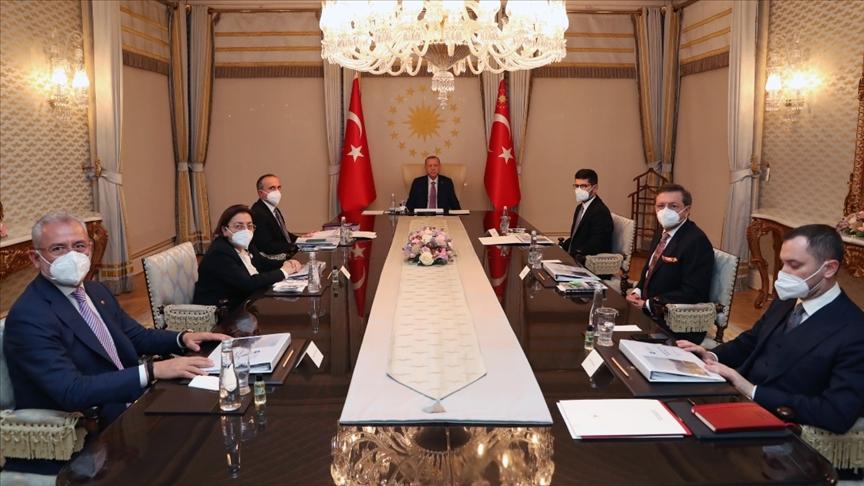 Türkiye Varlık Fonu Cumhurbaşkanı Erdoğan'ın başkanlığında toplandı