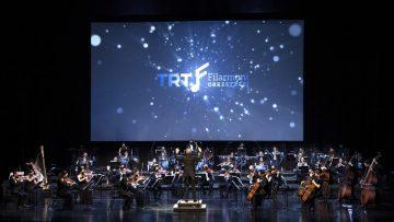TRT Filarmoni Orkestrası ilk kez sanatseverlerin karşısına çıktı