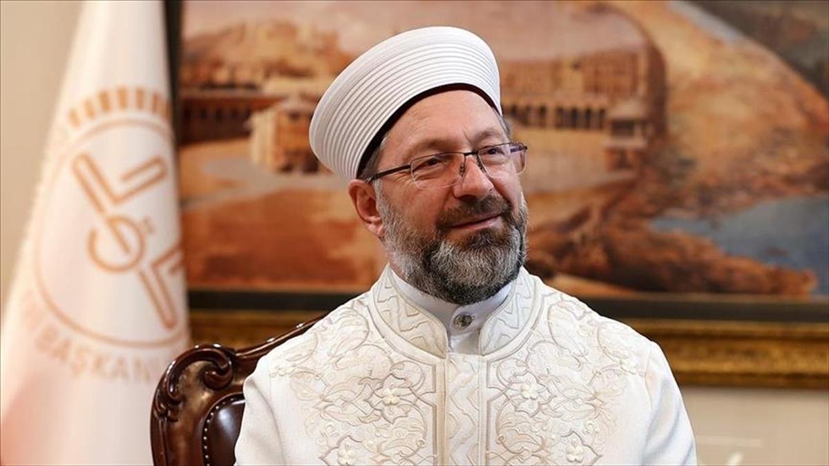 Diyanet İşleri Başkanı Erbaş: Ramazanda mümkün olduğunca evleri mescit haline getirelim