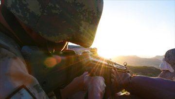 Eren-13 operasyonlarında 2 terörist etkisiz hale getirildi