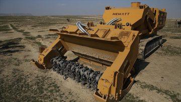 Azerbaycan'a 5 Mekanik Mayın Temizleme Teçhizatı teslim edildi