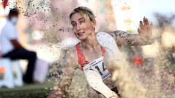 Milli atlet Tuğba Danışmaz'dan tarihi başarı