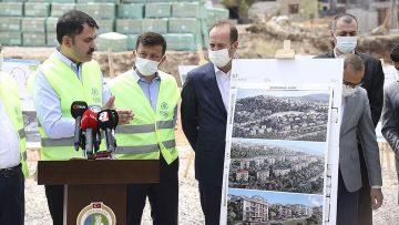 İzmir'e deprem sonrası kentsel dönüşüm için 2 milyar 200 milyon liralık yatırım