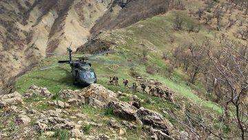 Eren-13 operasyonlarında 3 terörist daha etkisiz hale getirildi