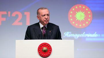 Cumhurbaşkanı Erdoğan: Türkiye son 19 yılda savunma sanayinde devrim gerçekleştirmiştir