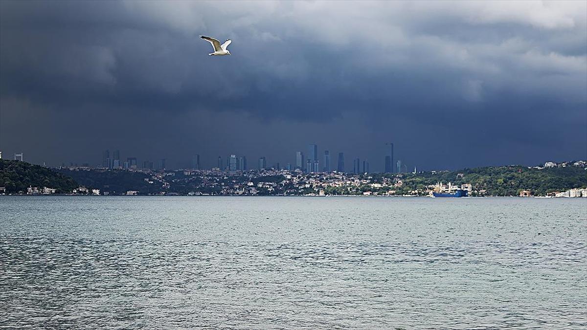 İstanbul ve Kocaeli çevrelerinde sağanak bekleniyor