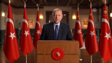 Cumhurbaşkanı Erdoğan: Evlatlarımıza daha adil, daha yaşanabilir bir dünya bırakmak hepimizin ortak görevidir