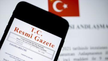 Vergi kanunlarına ilişkin düzenleme içeren kanun Resmi Gazete'de yayımlandı
