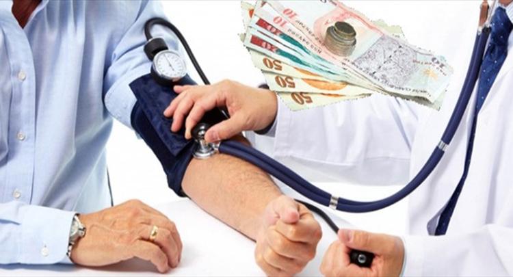 Sağlığa harcanan para yüzde 10,4 arttı