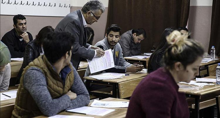 KPSS ortaöğretim oturumu yapıldı