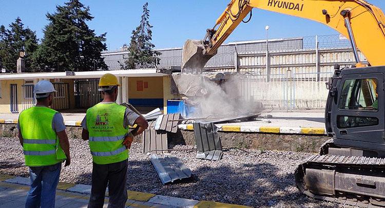 Gebze-Halkalı Tren Hattı'nda çalışmalarımız iyi gidiyor