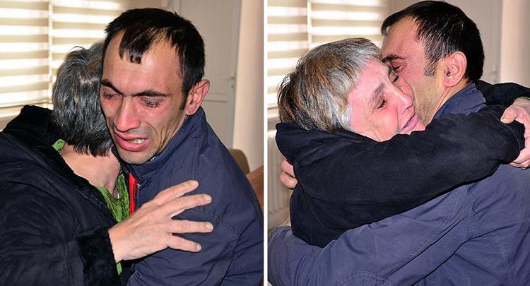 Anne ile oğlu 34 yıllık ayrılıktan sonra buluştu