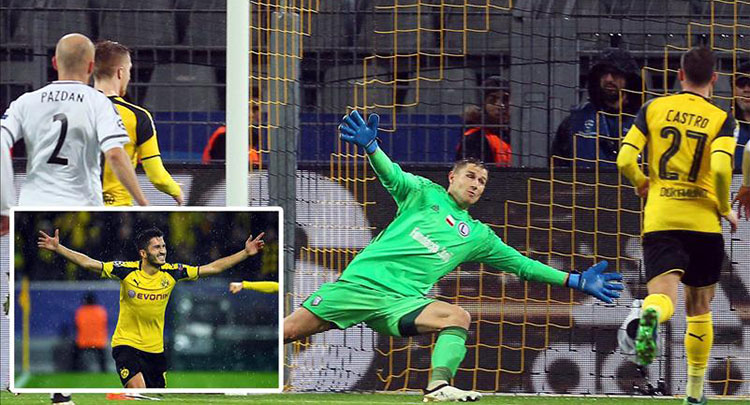 Şampiyonlar Ligi'nde gol rekoru: Bir maçta 12 gol