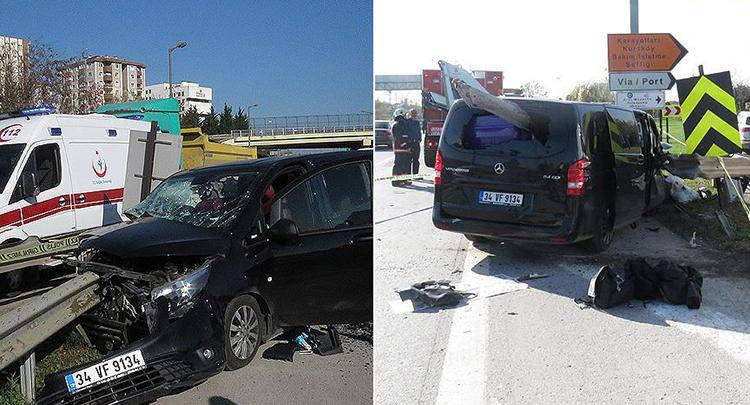 İstanbul'da trafik kazası: 1 ölü, 5 yaralı