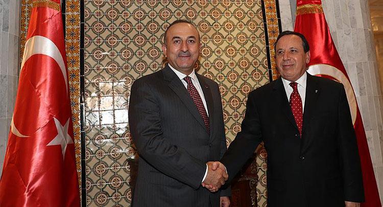 Dışişleri Bakanı Çavuşoğlu, Cihinavi ile görüştü