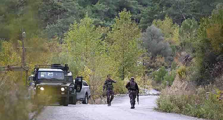 Antalya'da bir asker şehit oldu
