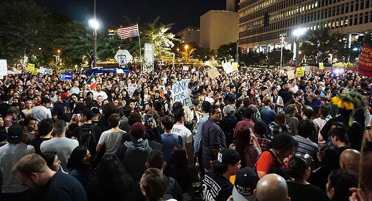 ABD'de Trump karşıtı gösteriler ikinci gününde