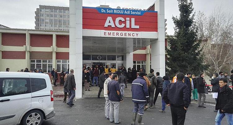 Kayseri'deki saldırıda yaralananlardan 14'ü taburcu edildi