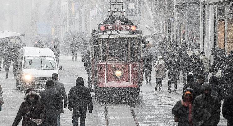 Kuvvetli ve yoğun kar yağışı geliyor