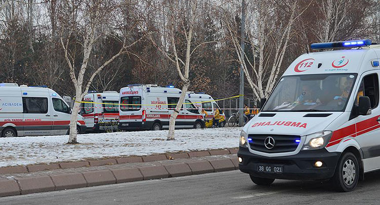 Kayseri'deki terör saldırısı soruşturmasında 1 tutuklama
