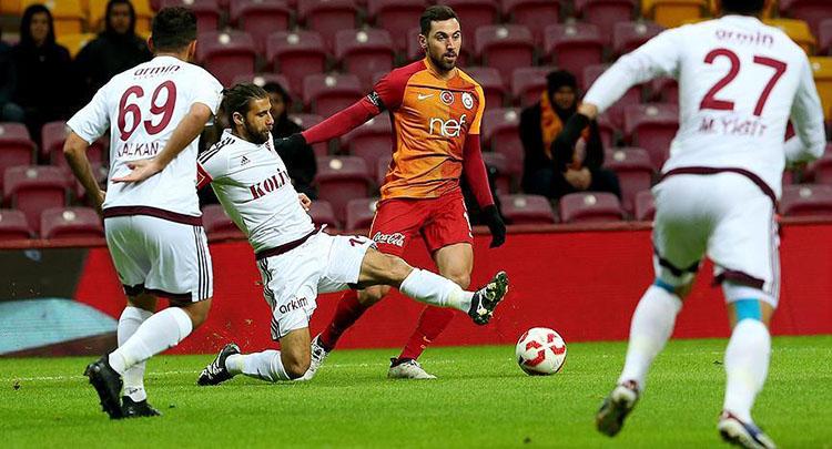 Kupada Galatasaray ile Elazığspor berabere kaldı