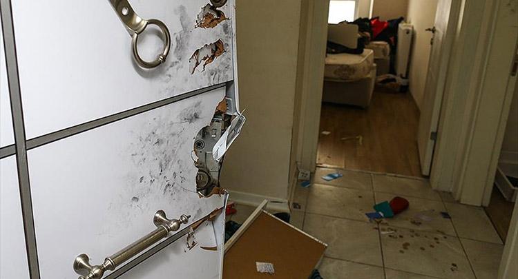 Ortaköy saldırısını gerçekleştiren teröristin yakalandığı daire görüntülendi