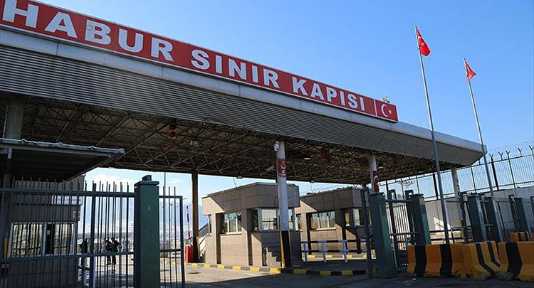 PKK'lı 5 terörist örgütten kaçarak Habur Kara Hudut Kapısında teslim oldu